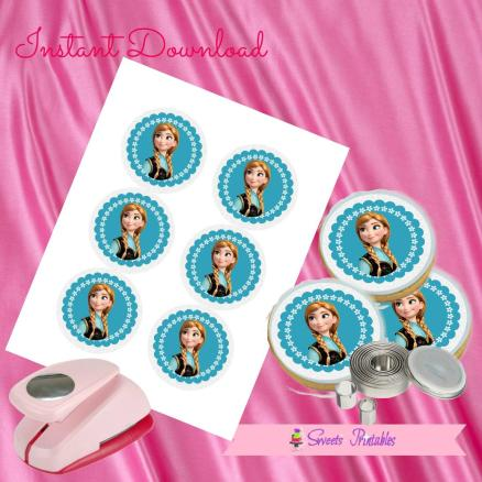 FROZEN ANNA COOKIE TOPPERS 3- IMAGEN PROMO