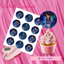 GALAXY DOLL CUPCAKE TOPPERS 2- IMAGEN PROMO