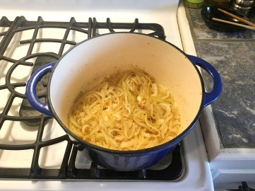 carmelize onions