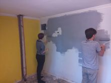 Long debates were had about 2 yellow walls in the house