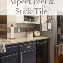 Stick On Backsplash Tiles For Kitchen Outdoor Island Kits How To Install Aspect Peel Tile Sweet Tea