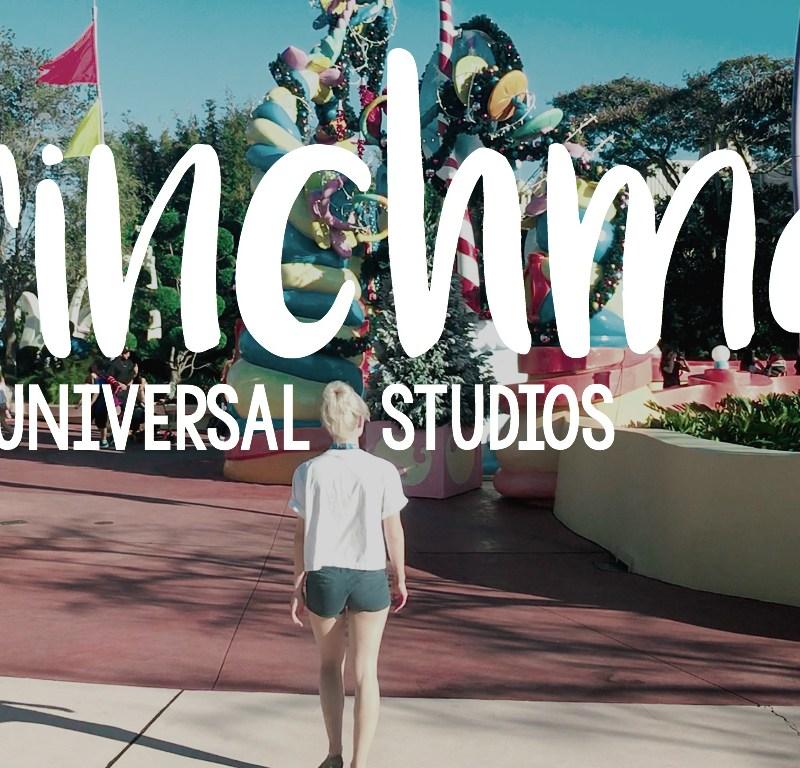 Grinchmas at Universal Studios