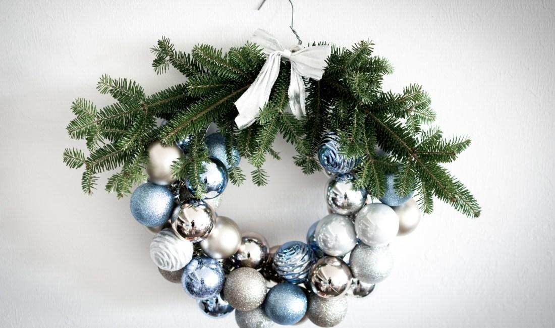 Holiday Diy Ornament Wreath