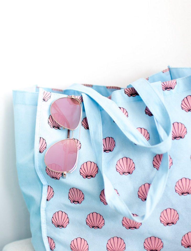 Beach Bag Essentials with Foster Grant's Item 8 Sunglasses