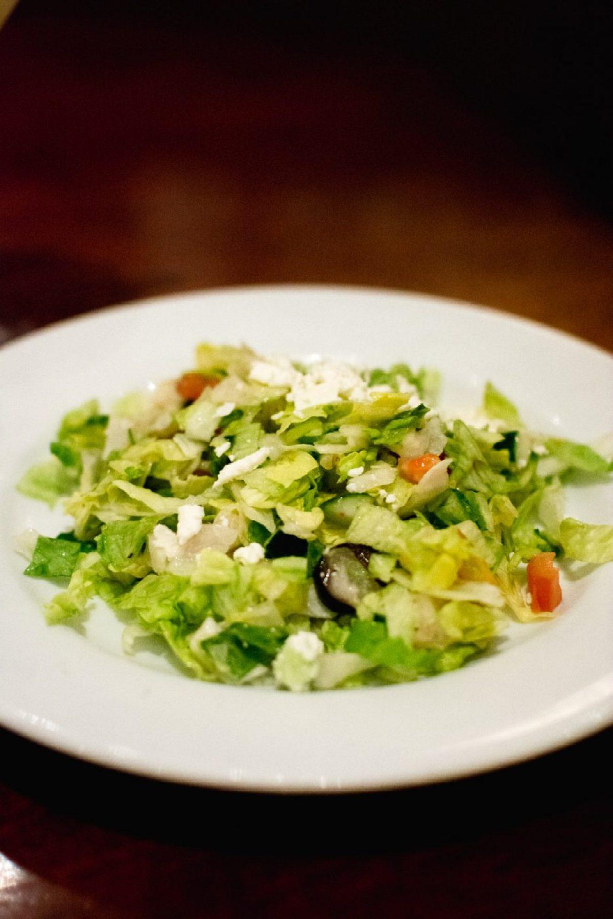 Salad at BRAVO