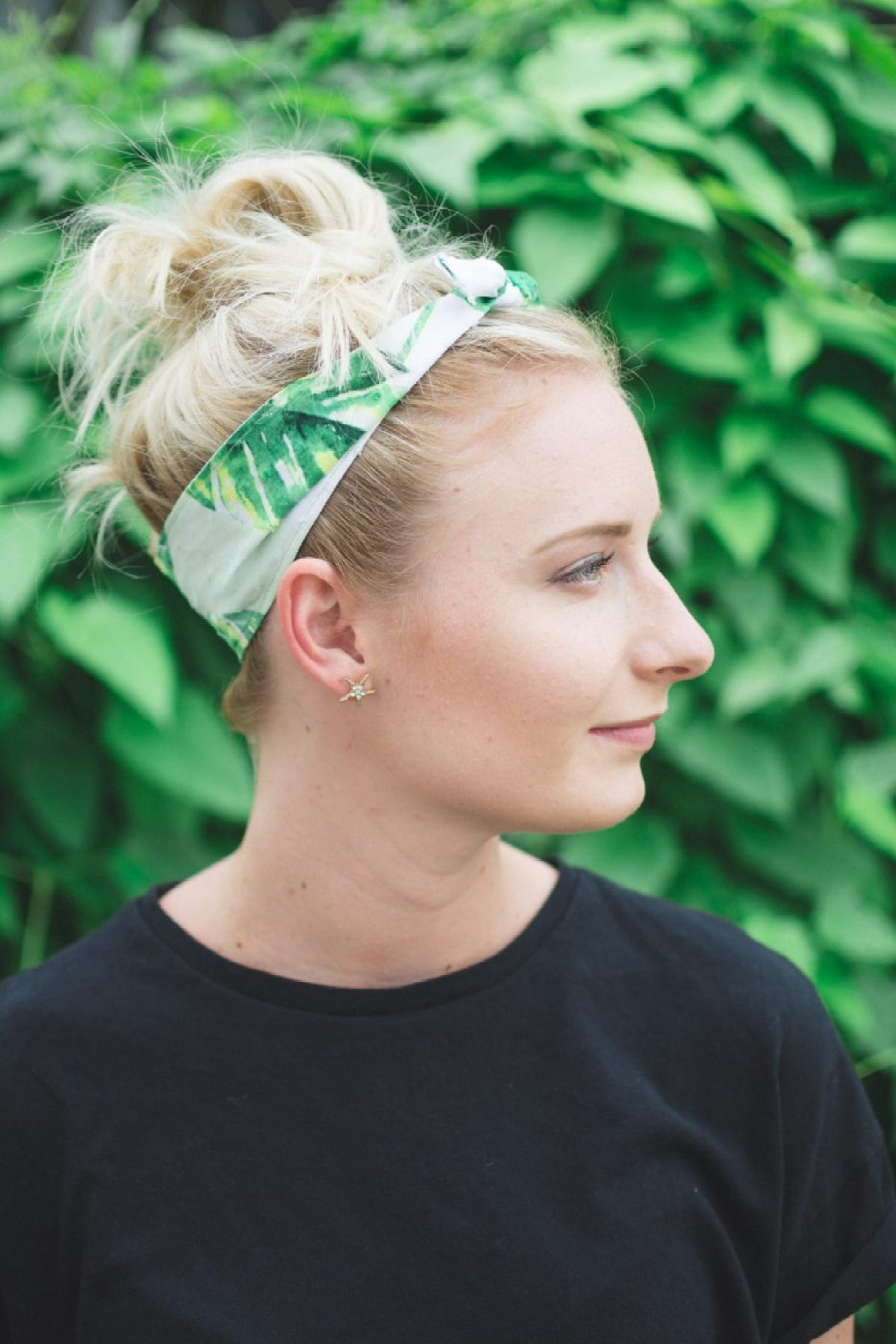 Palm Print Headband by Sweet Teal