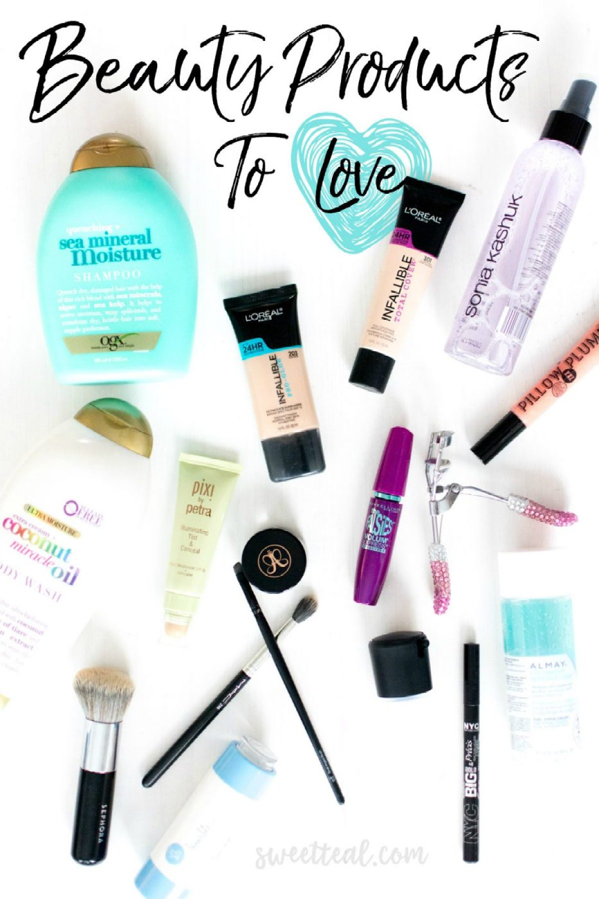 Beauty Products To Love - Sweet Teal