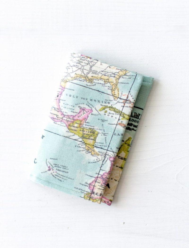 DIY Passport Holder by Jenny Bess of Sweet Teal