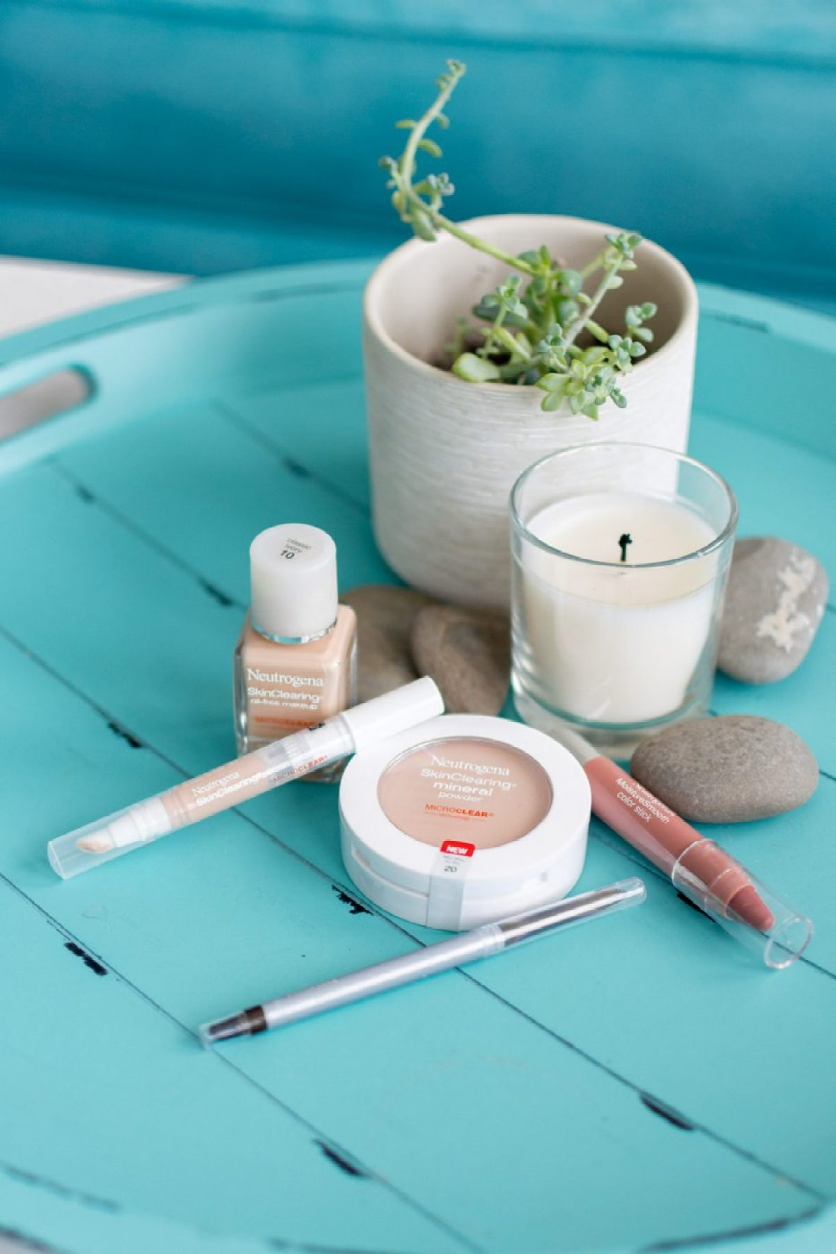 Neutrogena Back To School Makeup Tutorial - Sweet Teal