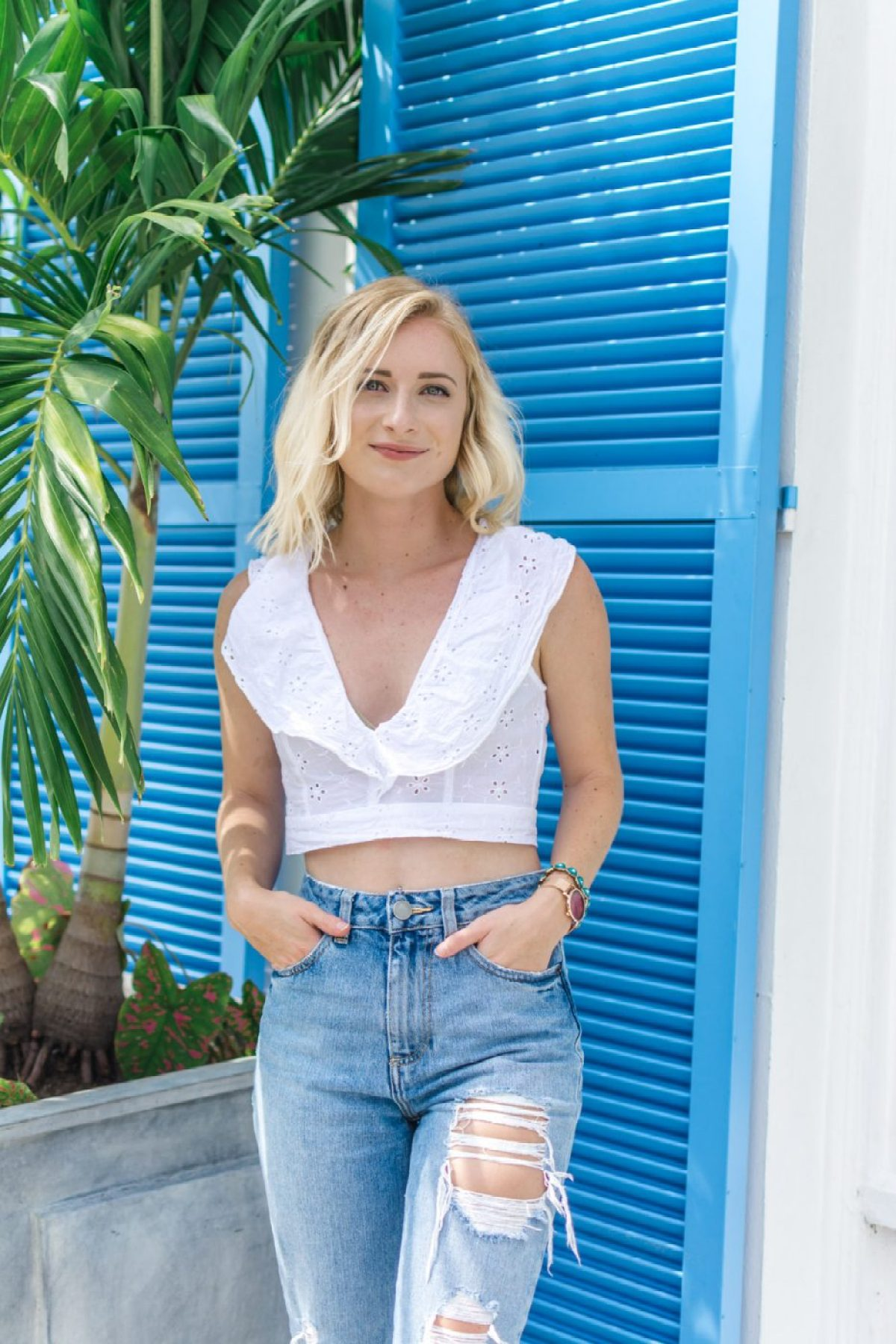 Loly in the Sky & Asos Jeans - Sweet Teal
