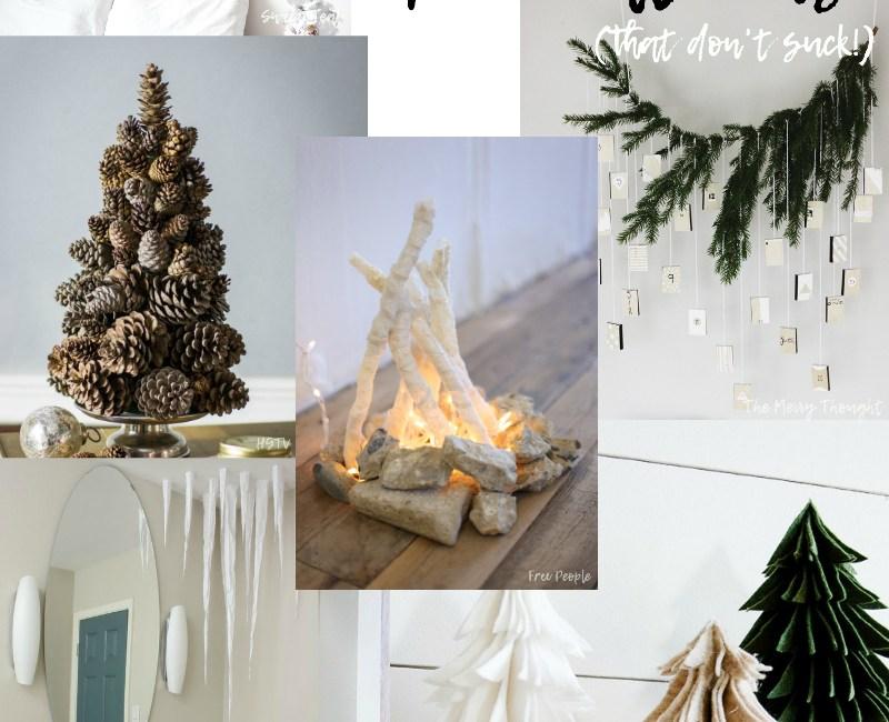 10 DIY Winter Decorations - Sweet Teal