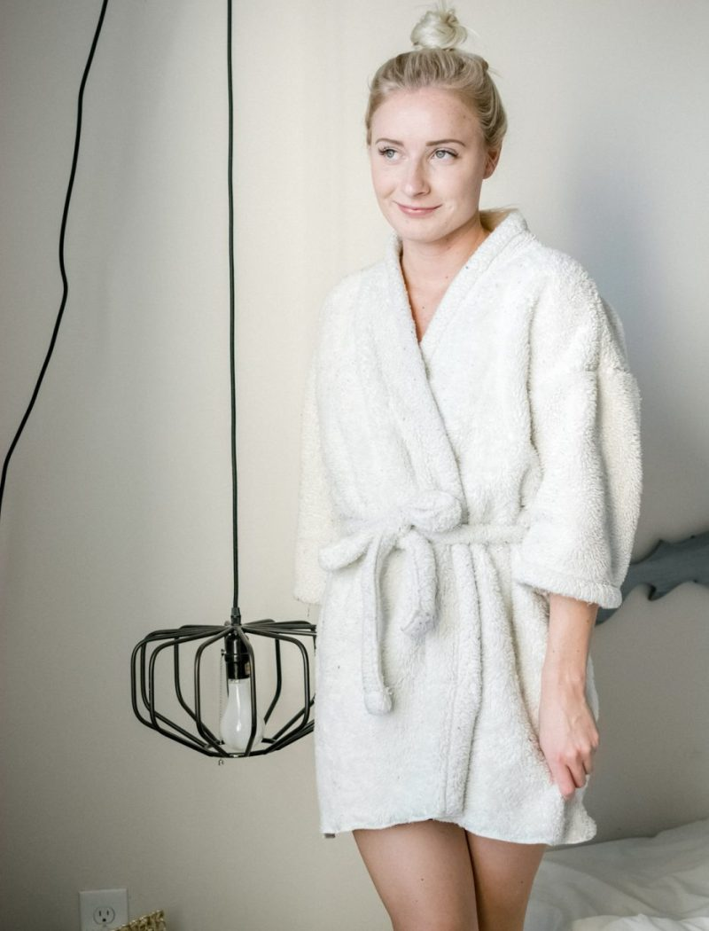 DIY Bath Robe - Sweet Teal