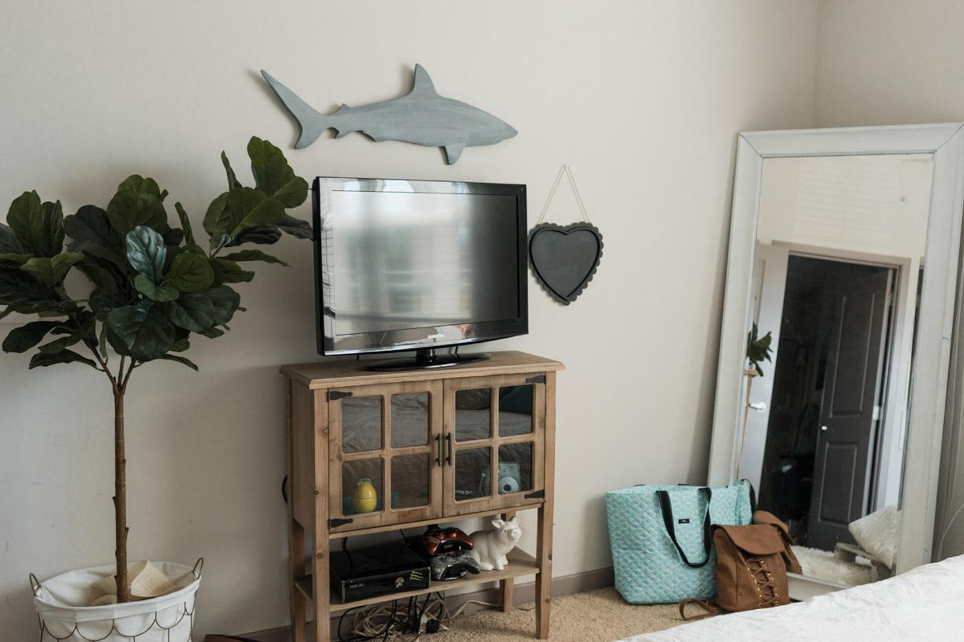 Beachy Boho Bedroom & Office - Sweet Teal-21