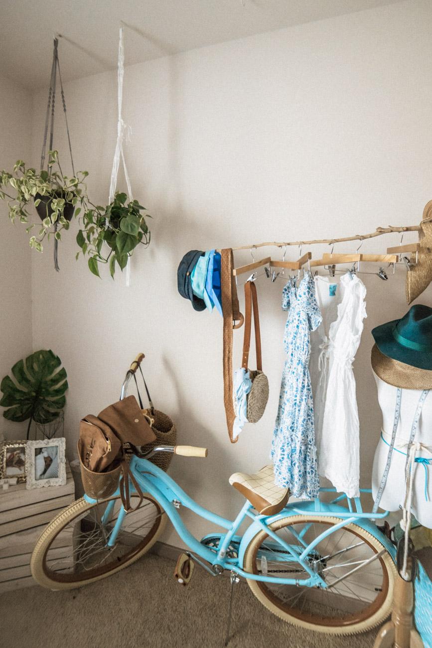 Rental upgrades - hanging items