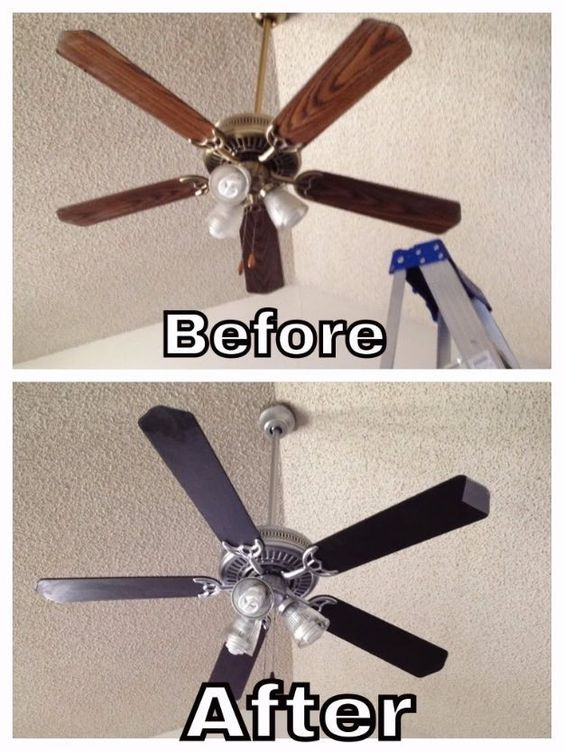 Paint Ceiling Fans - Make Your Home Look Like A Million Bucks