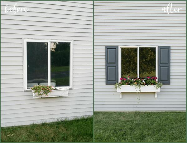 Window Box & Shutters - Make Your Home Look Like A Million Bucks