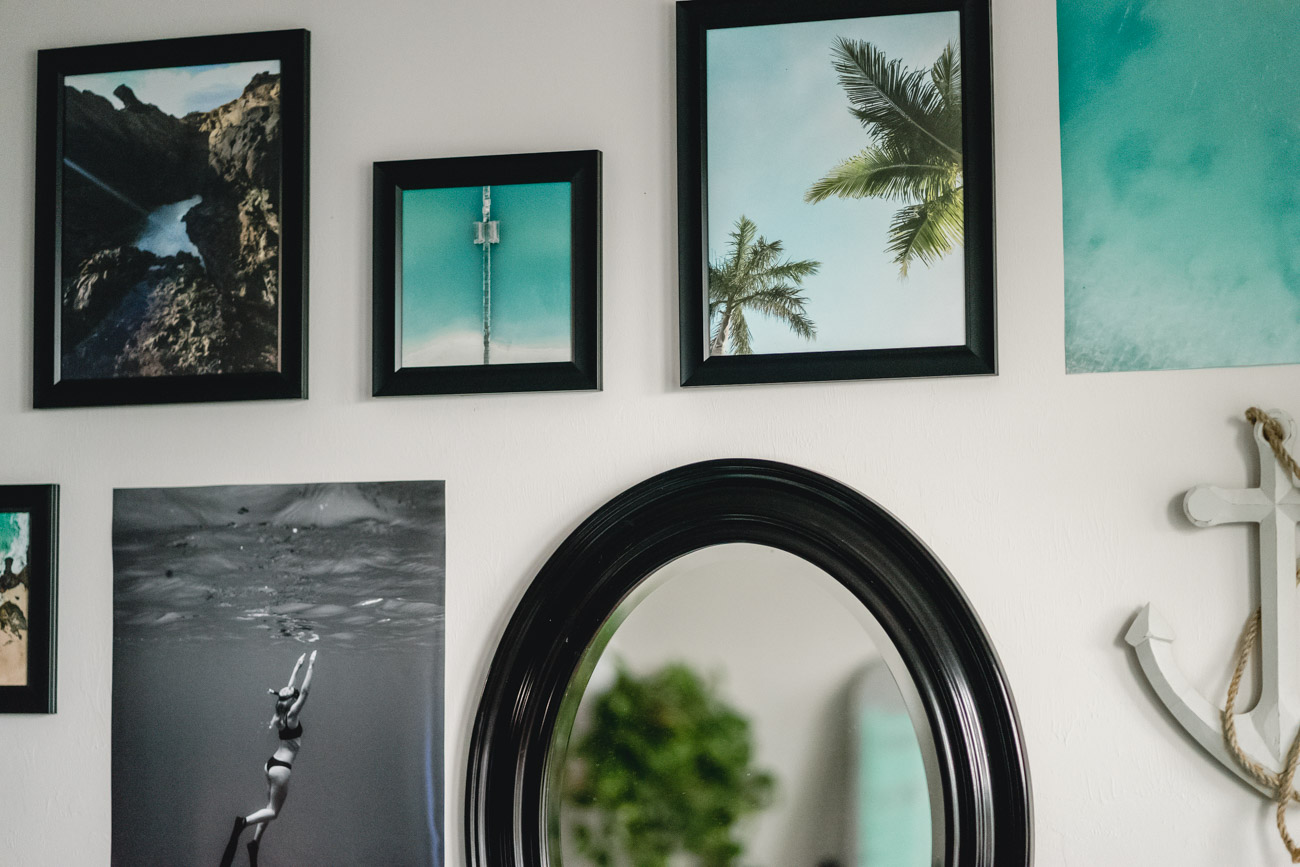 Gallery Wall Design - Sweet Teal