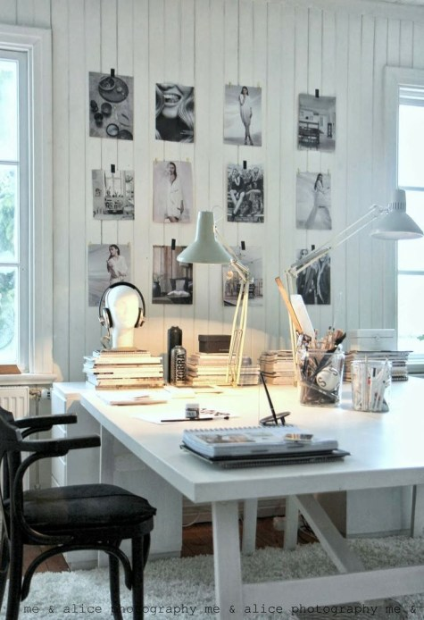 Dreamy Work Spaces - Photography Studio