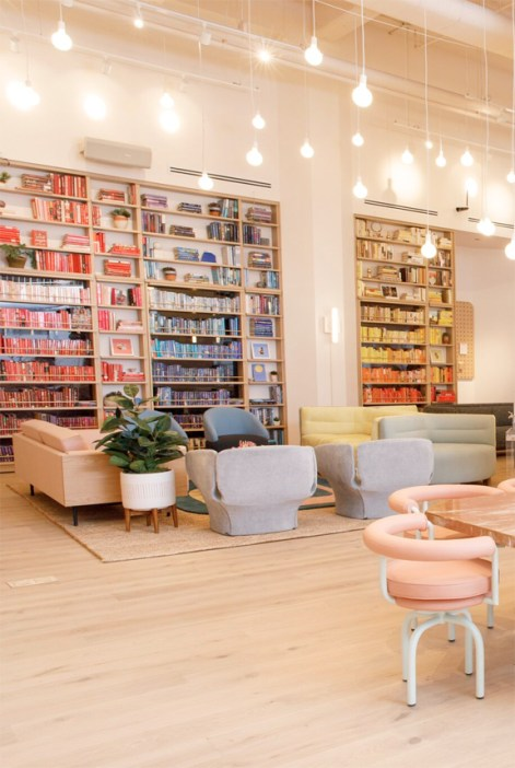 12 Dreamy Work Spaces - Colorful Library
