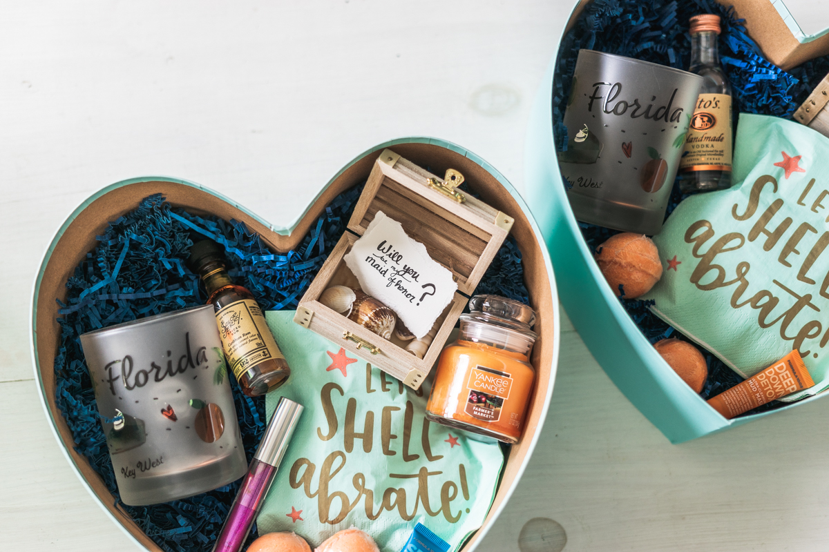 How To Ask Your Bridesmaids -Sweet Teal
