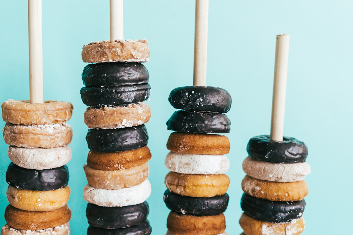 Donuts on a stand - How To