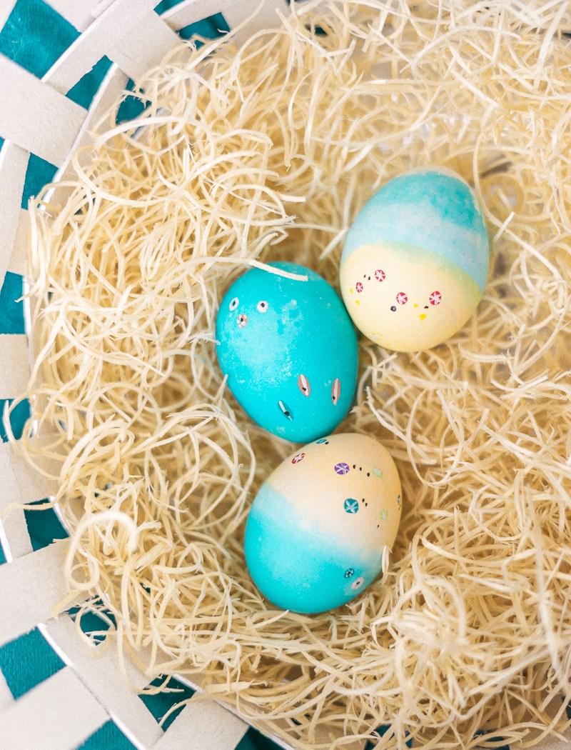 Make These Beachy Easter eggs