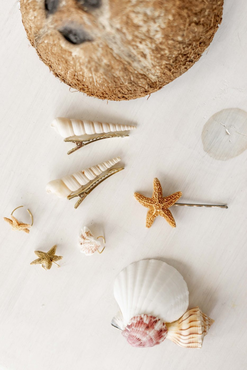Seashell Hair Accessories - Jenny Bess