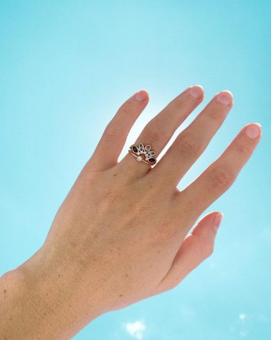 Custom Statice Jewelry Ring - Jenny Bess