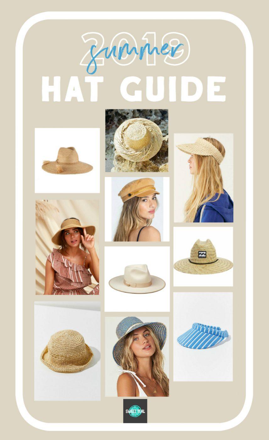 2019 Summer Hat Guide - Sweet Teal