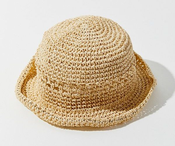 UO Emma Straw Bucket Hat - 2019 Summer Hat Guide