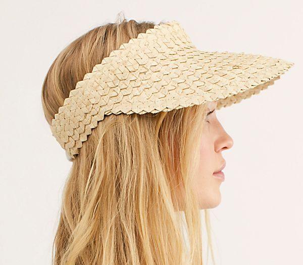 Free People Baha Straw Visor - Summer Hat Guide 2019