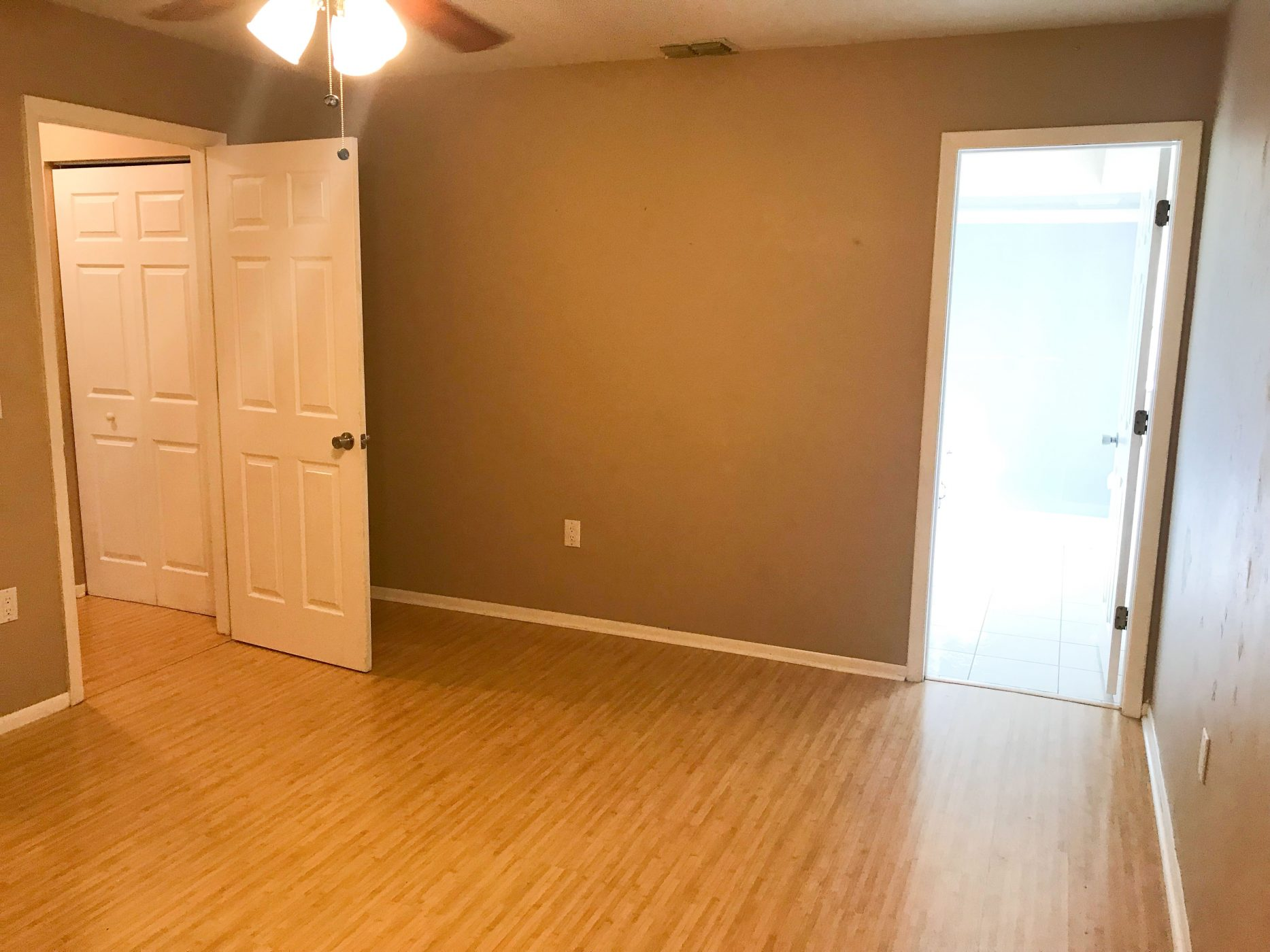 We Bought A House - Bedroom Before Photo - Sweet Teal