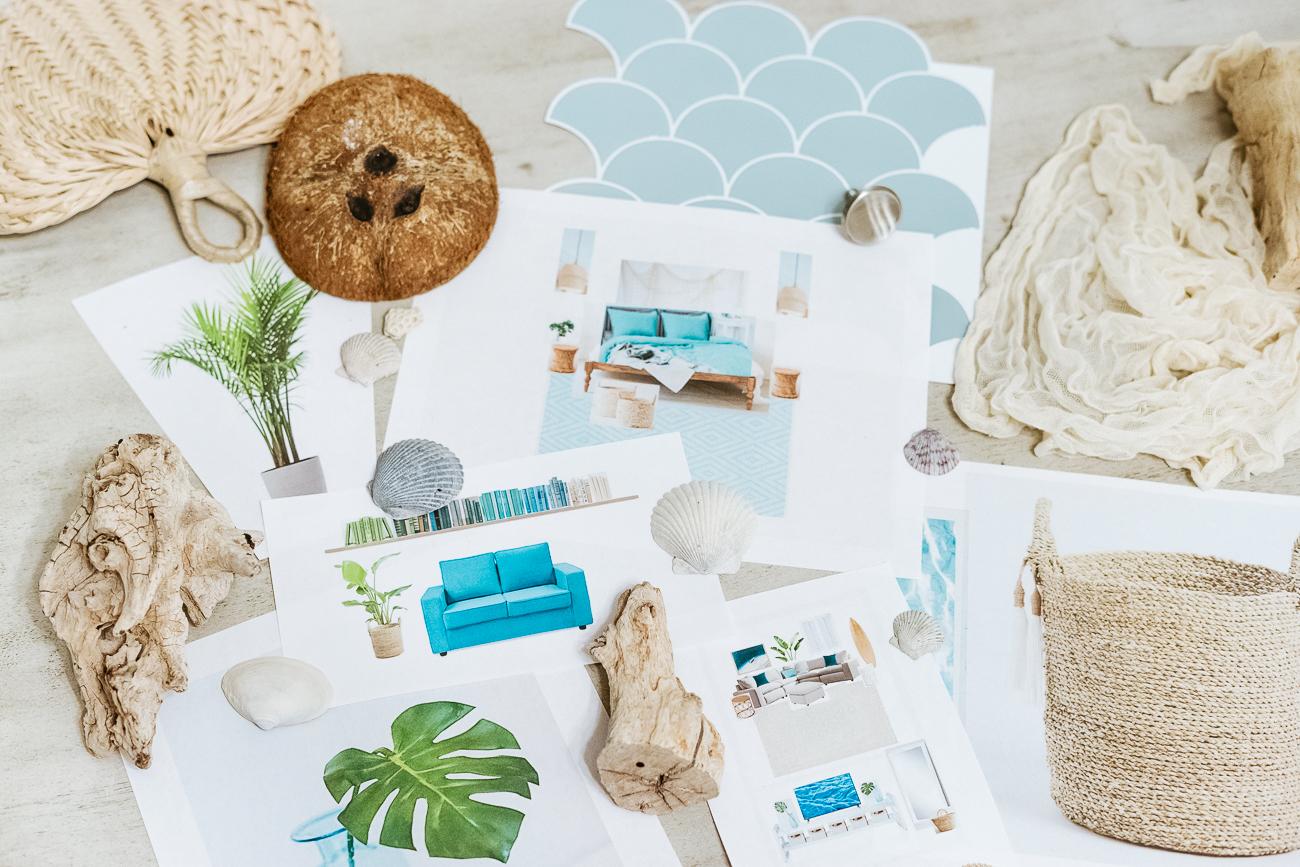 Tropical Bohemian Room Decorating Ideas