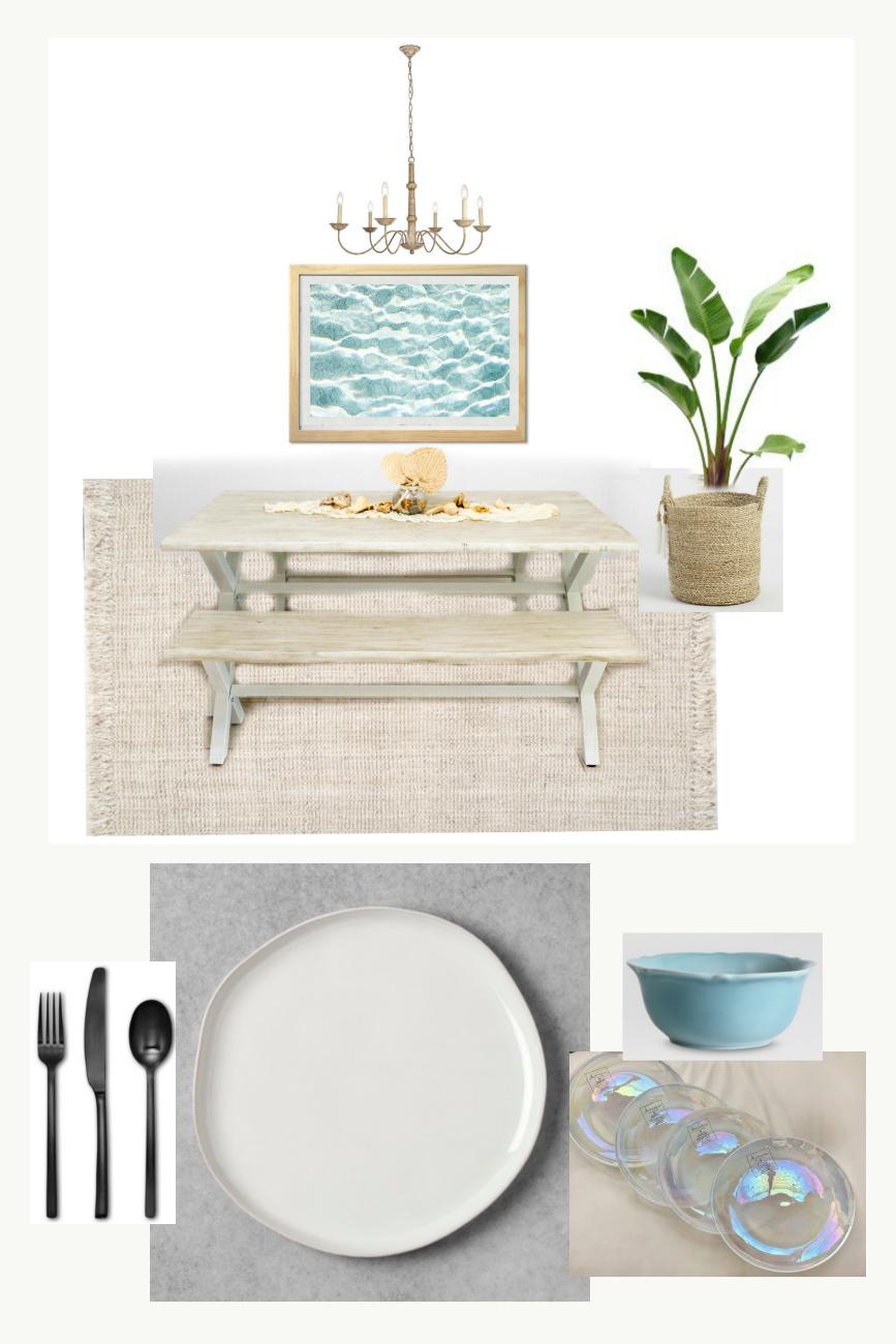 Home Renovation - Room Decorating Ideas - Beachy Boho Dining Room