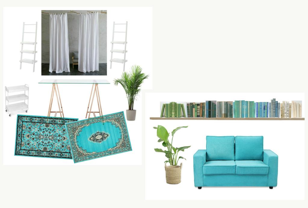Home Renovation - Beachy Boho Office Room Design