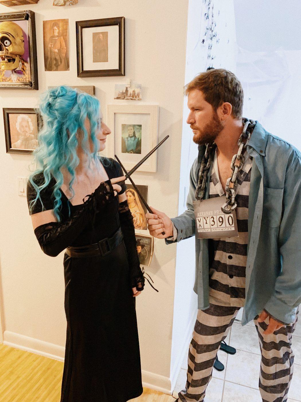 Sirius Black and Bellatrix Lestrange costume ideas