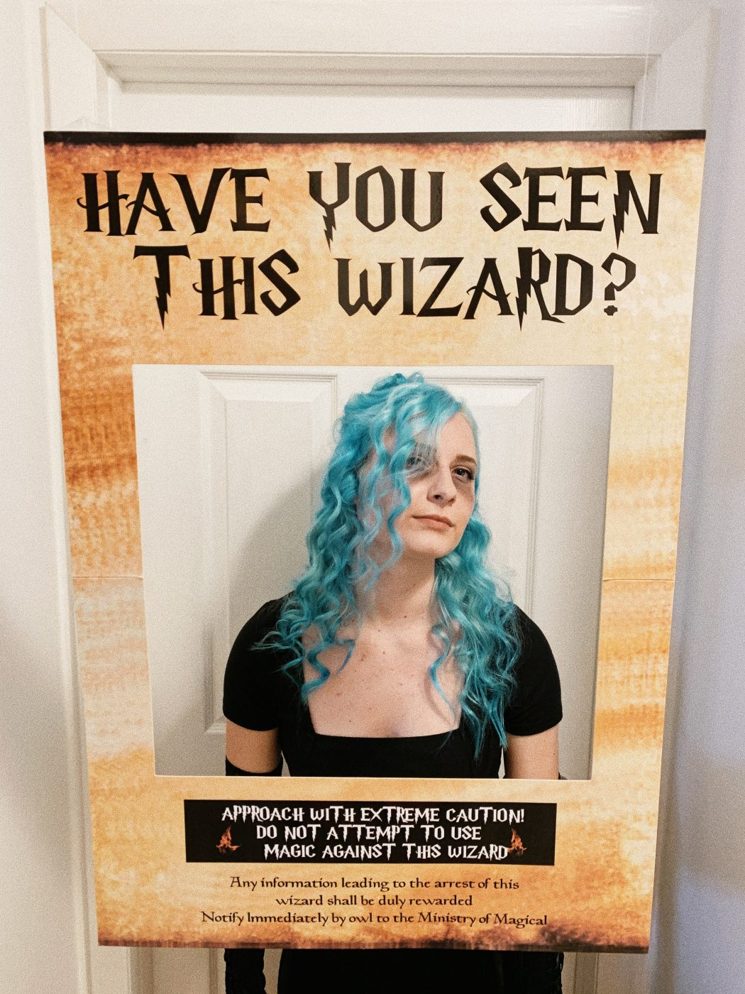 Have you seen this wizard photo opp