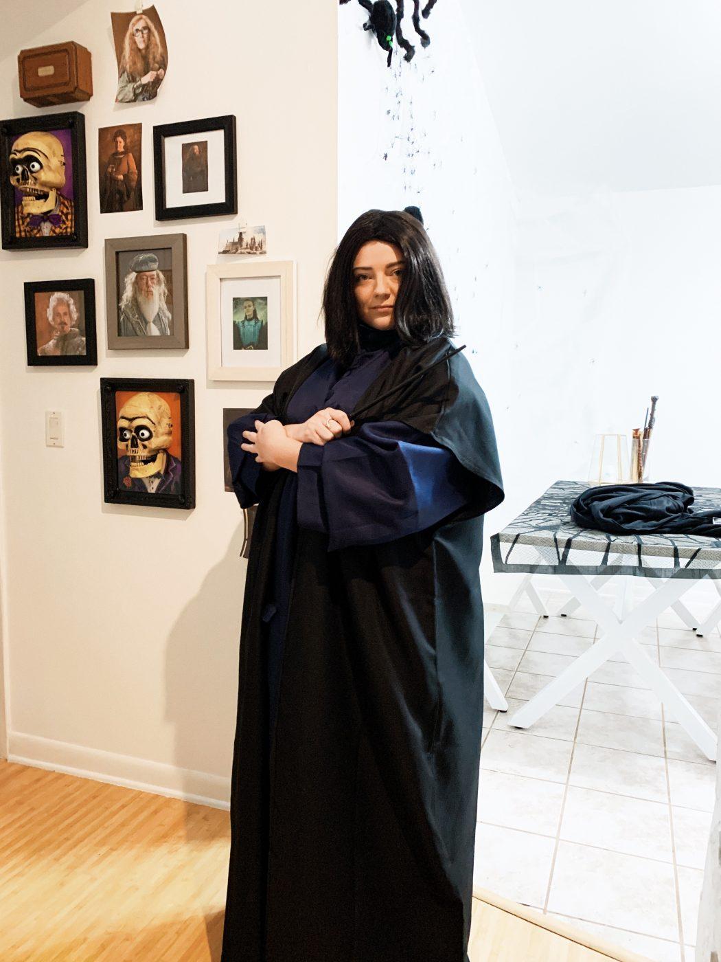 Professor Snape Halloween Costume
