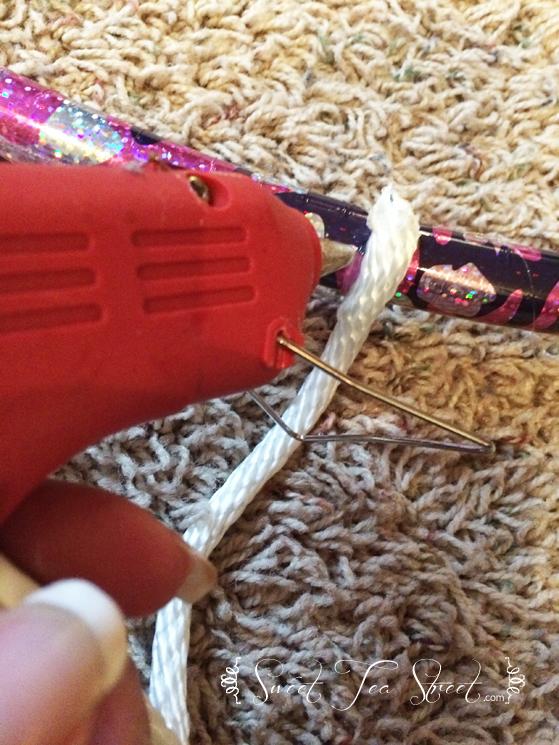 hot glue rope