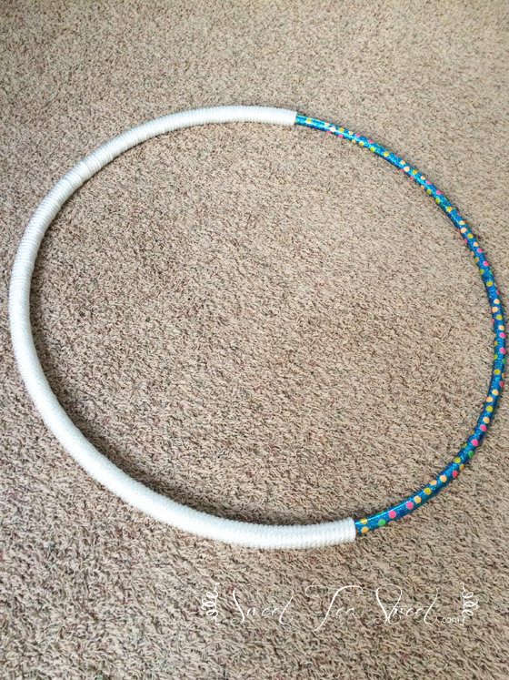 hula hoop with rope