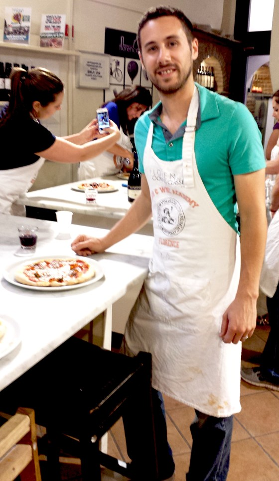 Pizza and Gelato Making Class in Florence, Italy