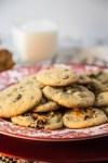 10 Minute Pretzel Chocolate Chip Cookies