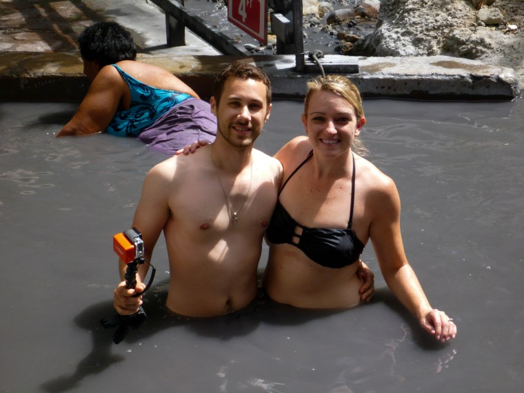 St. Lucia Drive In Volcano and Mud Baths | www.sweetteasweetie.com