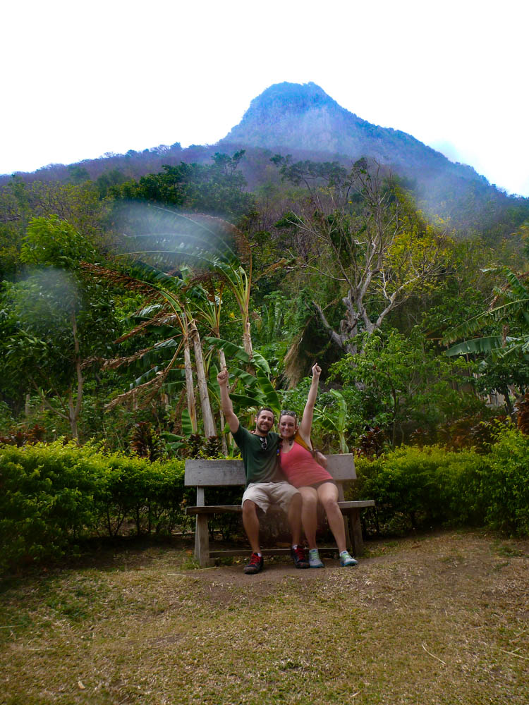 Hiking the Grand Piton in St. Lucia | www.sweetteasweetie.com