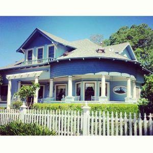 Haydon Street Inn in Healdsburg www.sweetteasweetie.com