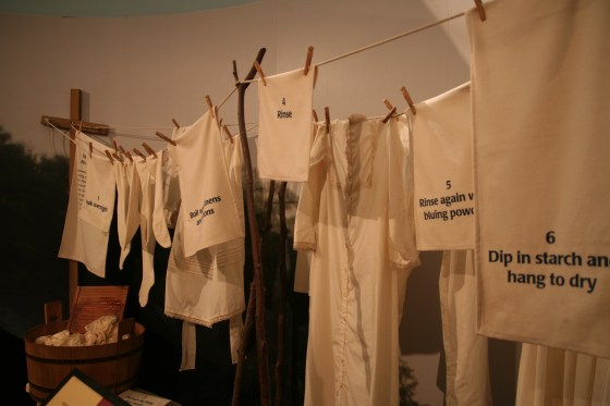 Original Washing Station at the Smithsonian American History Museum | www.sweetteasweetie.com