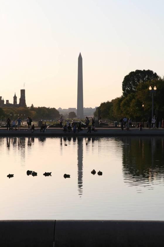 Washington Monument Reflecting Pool Washington DC | www.sweetteasweetie.com