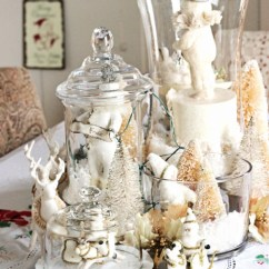 Pottery Barn Kitchen Hutch Decorating Ideas For How To Decorate Your House Christmas With Vintage ...