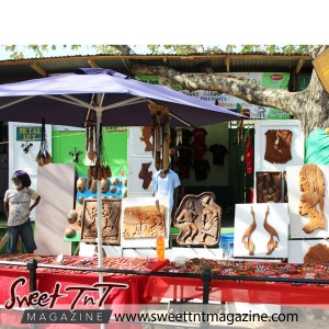 Art at Queen's Park Savannah in sweet T&T for Sweet TnT Magazine in Trinidad and Tobago