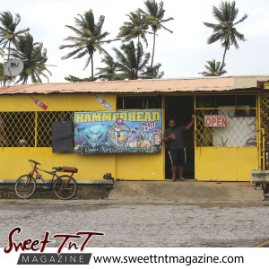 Business at Manzanilla Beach in sweet T&T for Sweet TnT Magazine, Culturama Publishing Company, for news in Trinidad, in Port of Spain, Trinidad and Tobago, with positive how to photography.